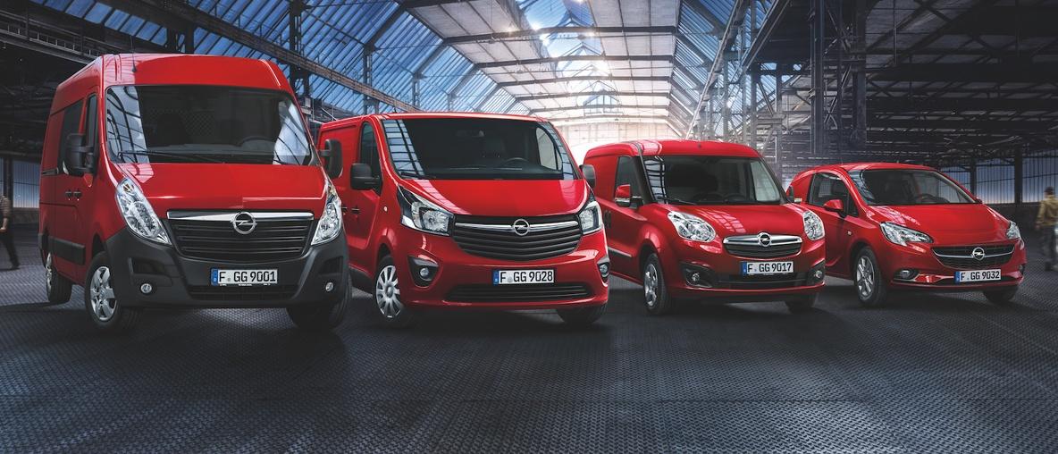 Samochody dostawcze w Opel Auto Żoliborz