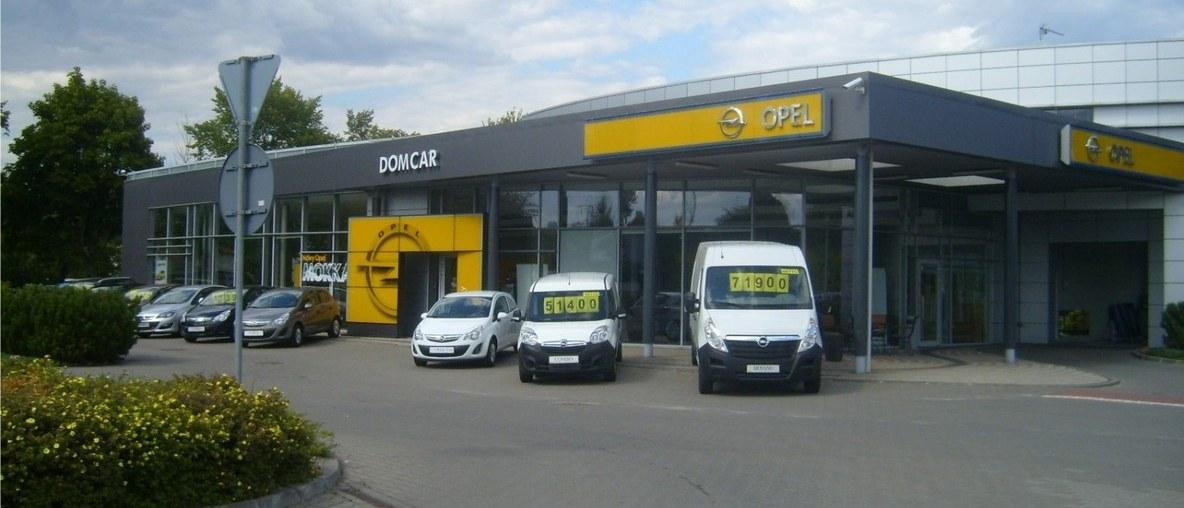 Salon i Serwis Opel Domcar