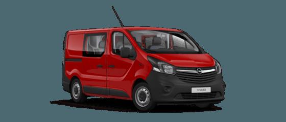 Opel Vivaro Furgon z podwójną kabiną