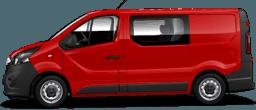 Vivaro Furgon Edition z podwójną kabiną