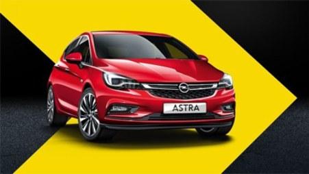 Opel Astra w wyprzedaży rocznika 2018 AutoŻoliborz