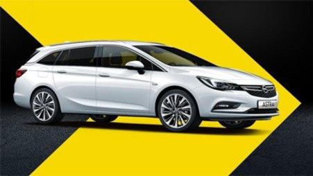 Opel Astra ST w wyprzedaży rocznika 2018 AutoŻoliborz