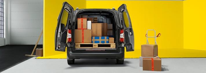 Opel Combo Cargo od AutoŻoliborz. Prób załadunku.
