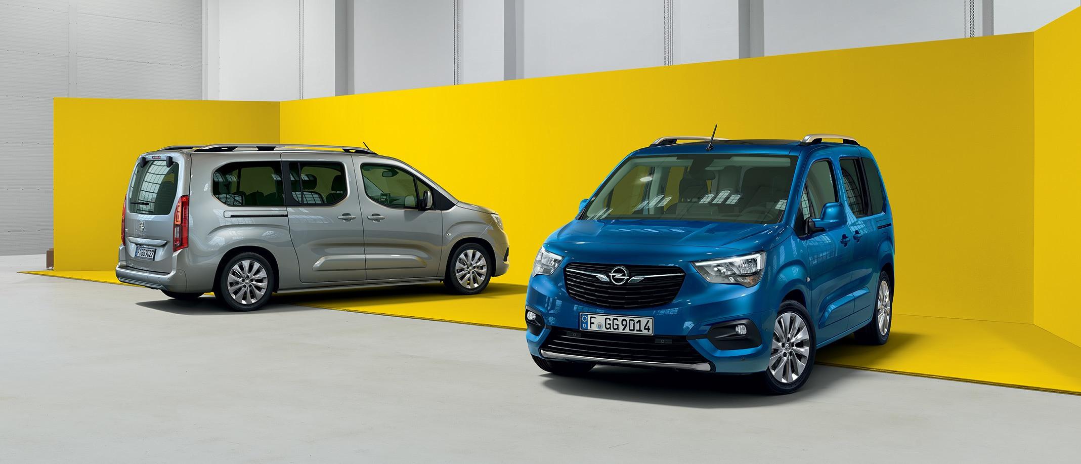 Opel Combo Life z salonów Opel AutoŻoliborz Warszawa, Ząbki, Piaseczno.