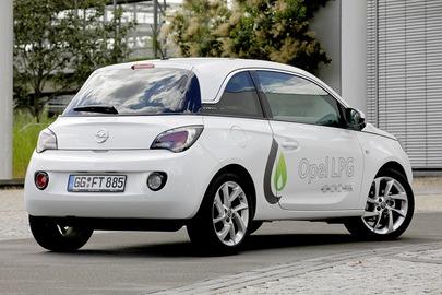 Opel Adam z LPG, Adam z gazem, Opel z gazem, autogaz