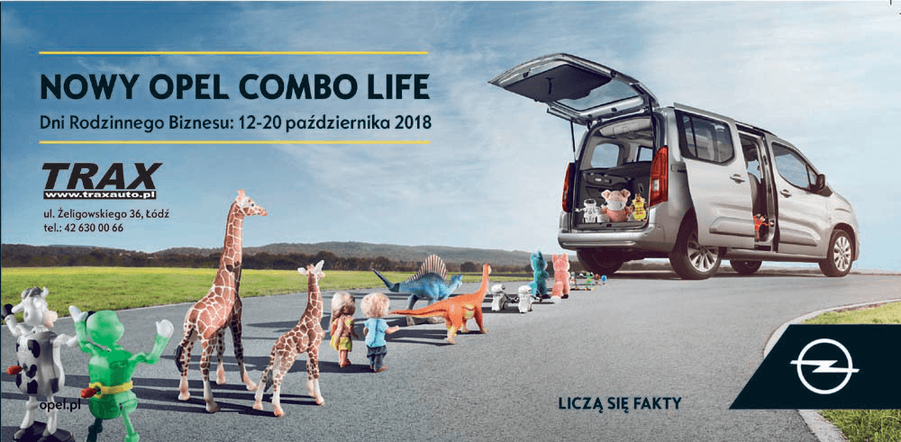 Nowy Opel Combo Life