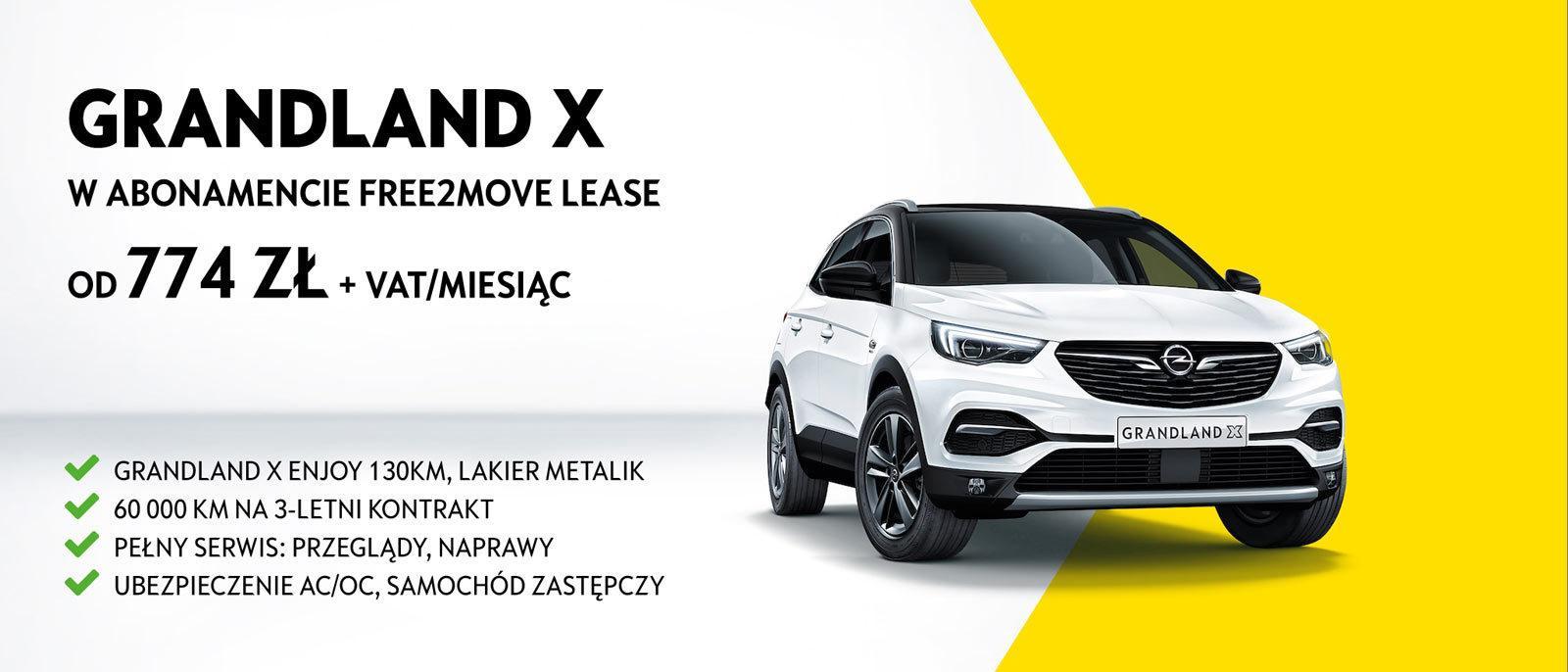 Abonament na Opel Grandland X