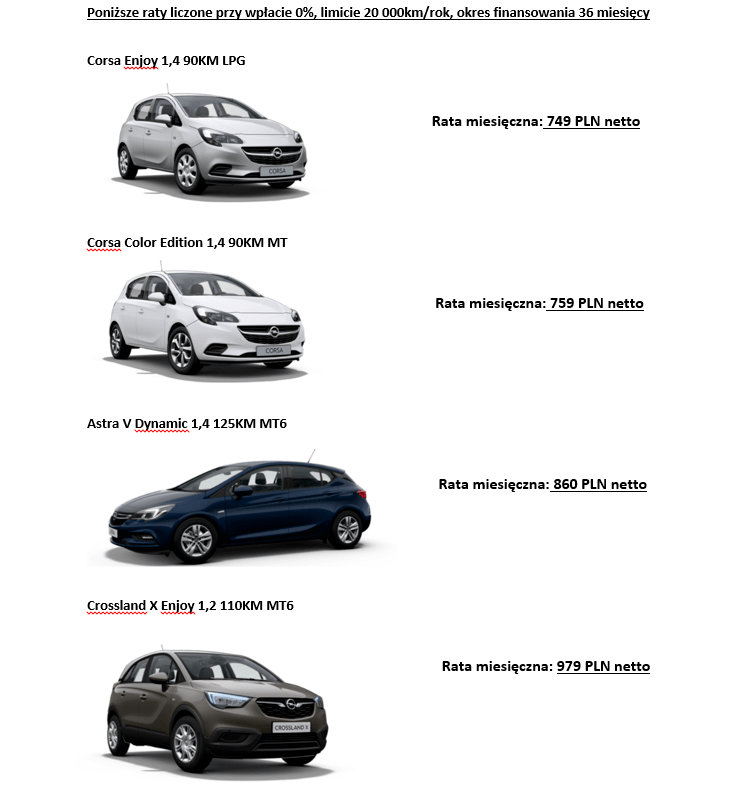Opel Konocar/Mastrelease
