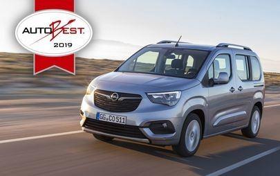 """AUTOBEST: Opel Combo Life otrzymuje tytuł """"Best Buy Car of Europe 2019"""""""