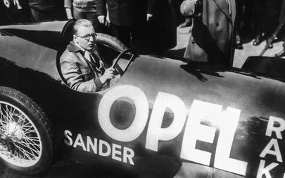 90 lat temu: sensacyjny pokaz Opla w erze rakiet
