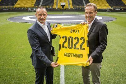 Opel i Borussia przedłużają długoterminową umowę