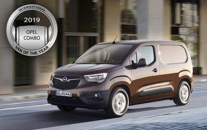 Nowy Opel Combo zdobywa tytuł International Van of the Year 2019