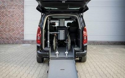Opel na RETTmobil 2019: dostęp dla wózków inwalidzkich