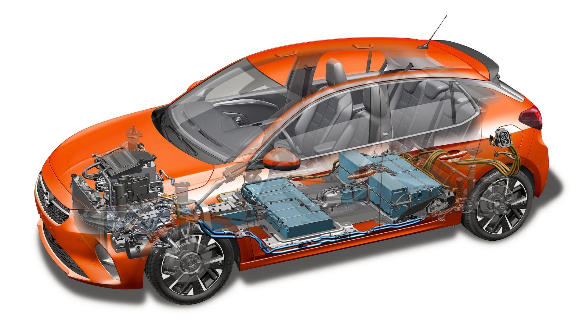Opel Corsa Elektryczna