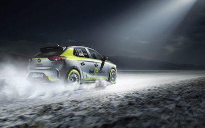 Światowa premiera na targach IAA we Frankfurcie: Opel pierwszym producentem elektrycznego samochodu rajdowego