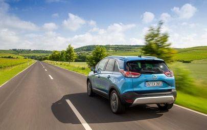 Opel Crossland X: Teraz z najmocniejszym silnikiem benzynowym i sześciobiegową automatyczną przekładnią