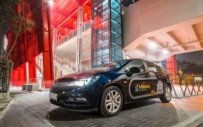 Bestsellerowy Opel Astra dostępny w ramach usługi car sharingu