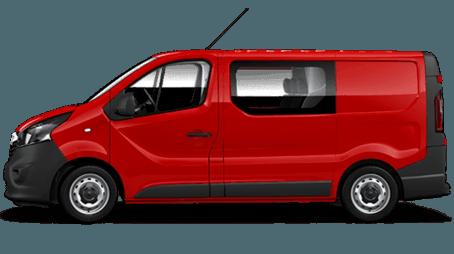 Opel Vivaro Furgon z podwójną kabiną już za 899 zł