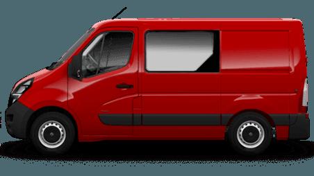 Nowy Movano Furgon z podwójną kabiną