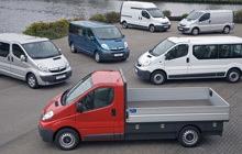 Sprzedaż samochodów dostawczych i ciężarowych marki Opel