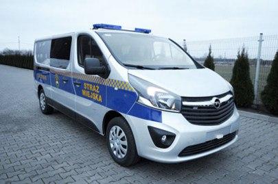 Radiowóz straży miejskiej