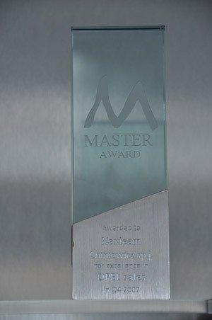 Master Award za najlepszą sprzedaż Opla w 4 kwartale 2007 - Opel Poland